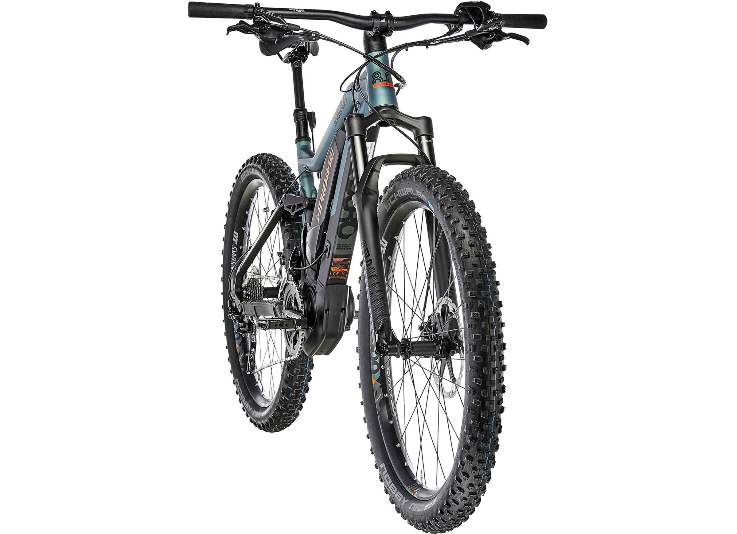 95fe5f559d5 HAIBIKE SDURO FullSeven 8.0 E-MTB Full Suspension black at Bikester ...